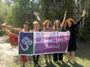 Start stretching for yoga-filled festival