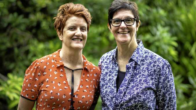 CLEVER: Yamba residents Kim Burgess and Susan Ferguson are the founders of TripaSista.