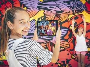Animated mural brings life to Caloundra