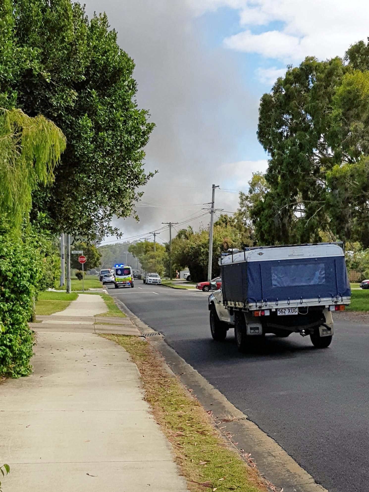 Firefighters rushed to the home at Currimundi this morning.