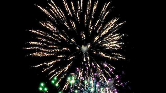 SPARKLING: Fireworks from the Riverlight Festival at Memorial Park, Grafton last year, .