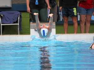 Athletes keen to show gladiatorial fight in the Biloela pool