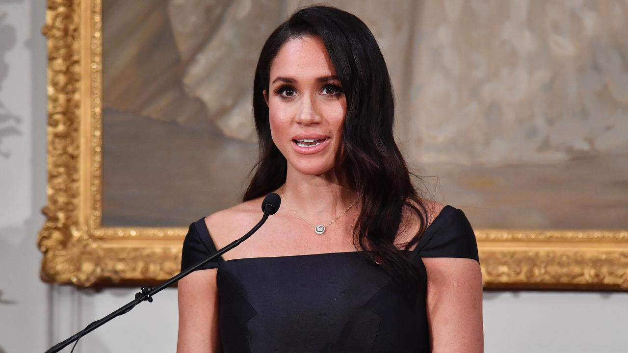Meghan quoted New Zealand's most famous suffragette earlier this week. Photo: AAP Image/AFP Pool, Marty Melville