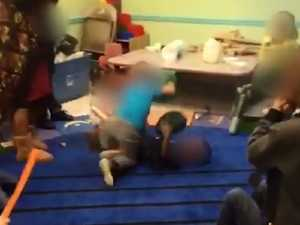 Sick clip shows day care 'fight club'