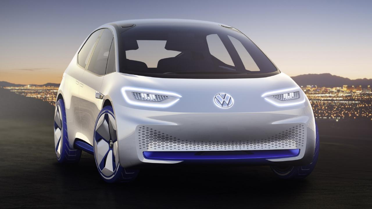 Volkswagen I.D. electric hatch concept was first shown in 2016.