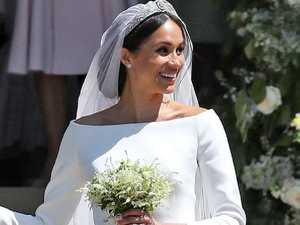How Meghan's wedding bouquet got 'ruined'