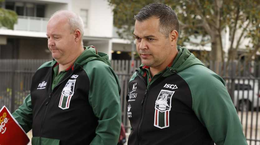 While Anthony Seibold has done well at the Rabbitohs, he didn't win anything in the second tier of rugby league.