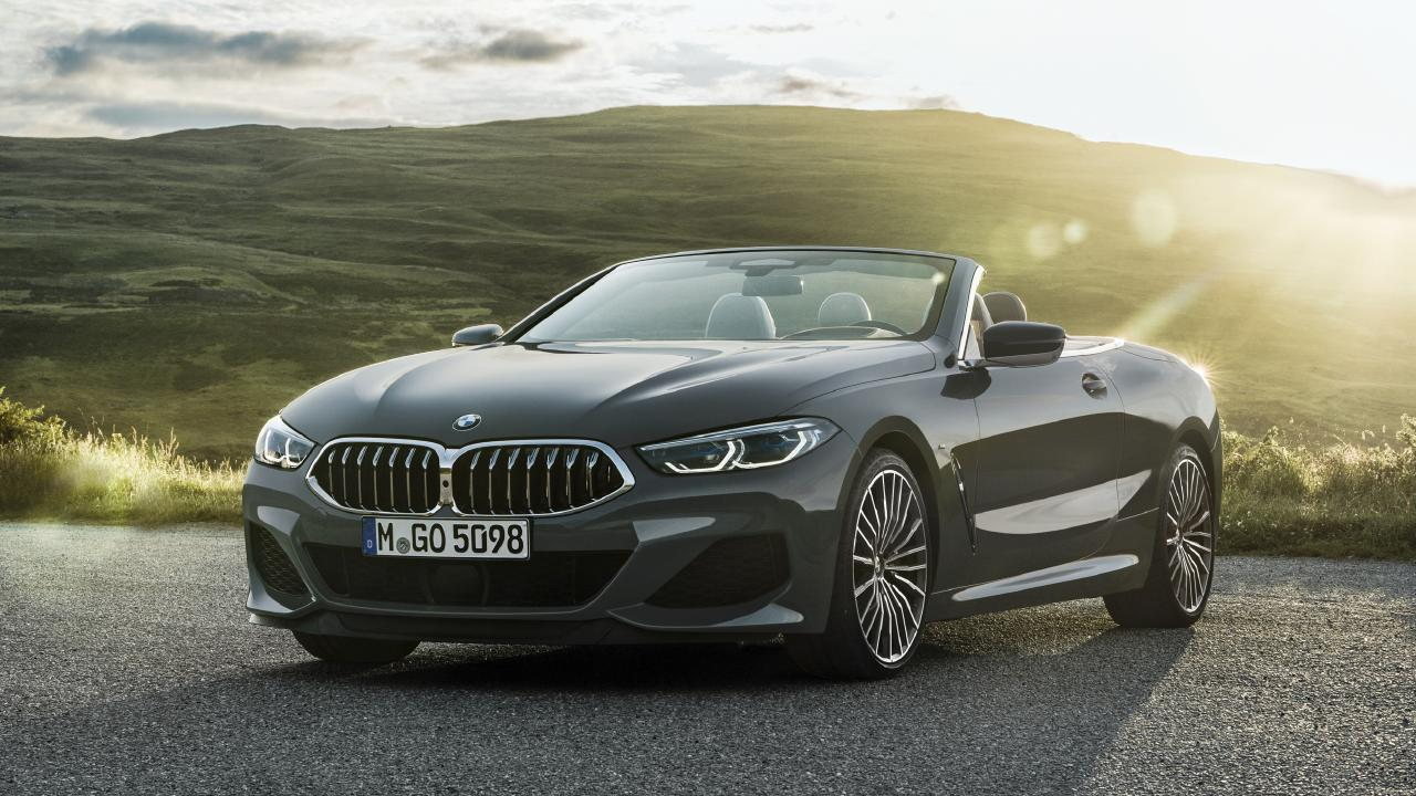 The BMW 8-Series Convertible actually has a useful boot.
