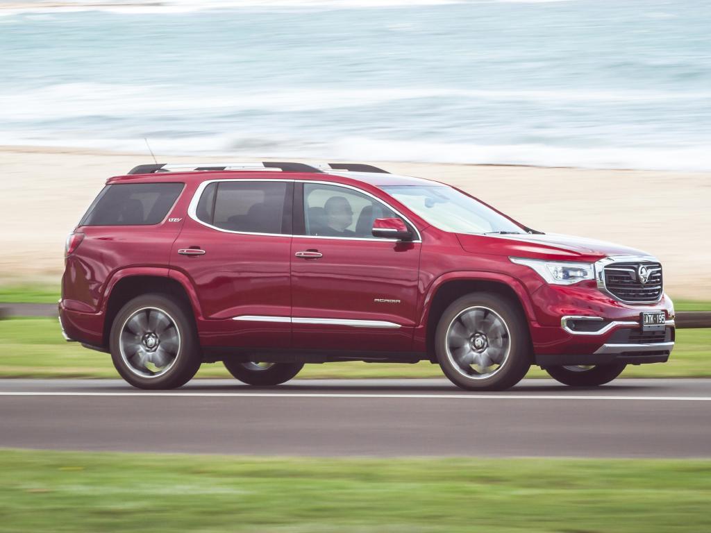 Acadia LTZ-V: $68K drive-away