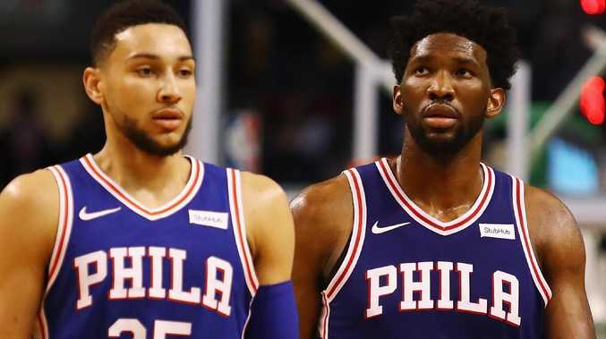 Ben Simmons impressed but Joel Embiid stole the show.