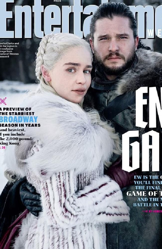 It's hard to say goodbye. Picture: courtesy of Entertainment Weekly