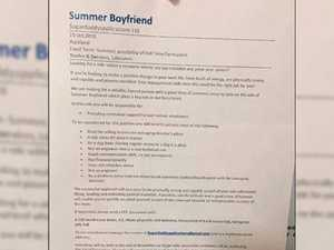 Job ad for 'summer boyfriend' goes viral