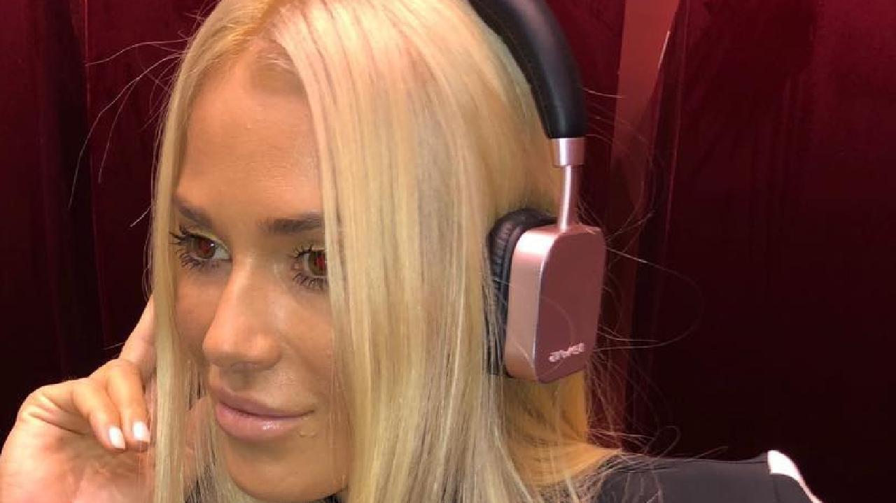 Viktoria Karida is a Greek reality TV show host. Picture: Instagram