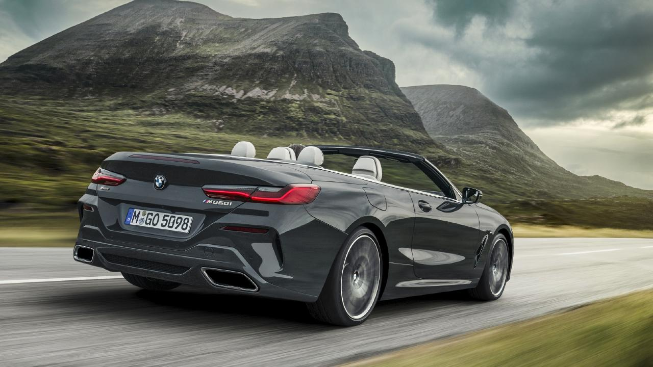 BMW 8-Series Convertible.