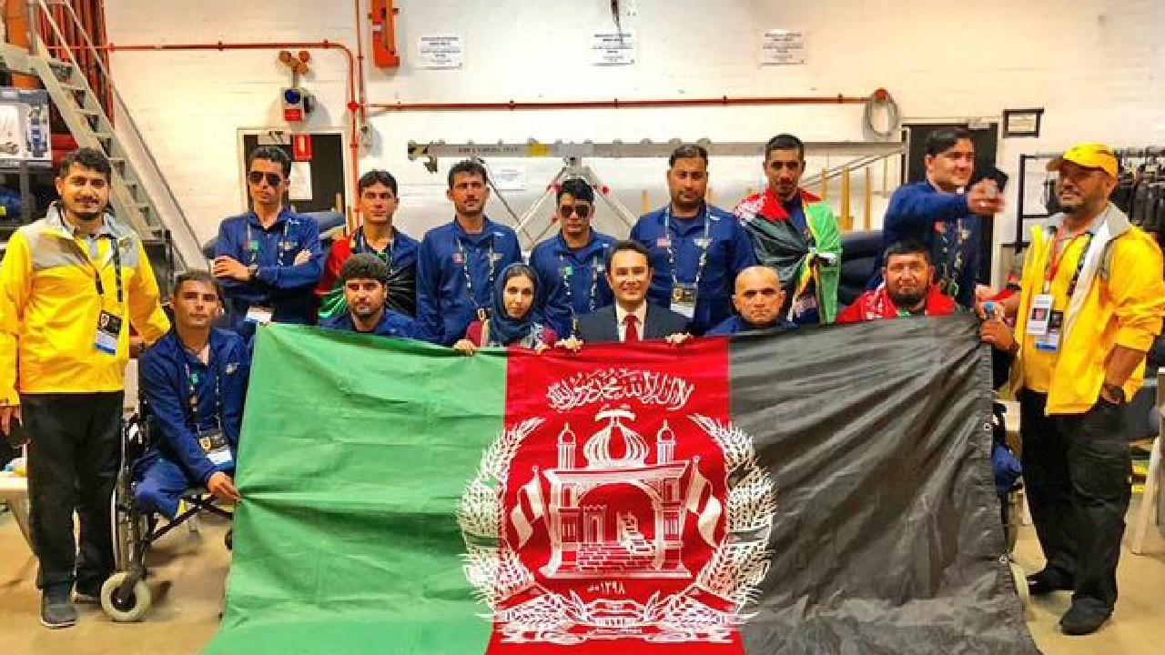 Members of Afghanistan's team for the Invictus Games. Half of the group have remained in Australia and plan to seek asylum, according to reports.
