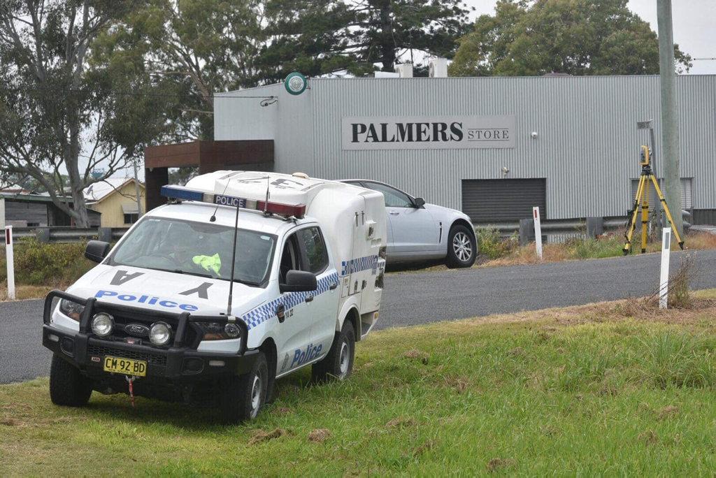 A car crash at Palmers Island on Saturday, November 3.