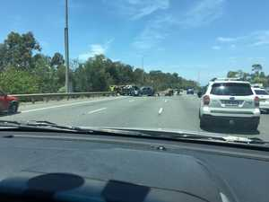 Rollover causing major delays on Bruce Highway