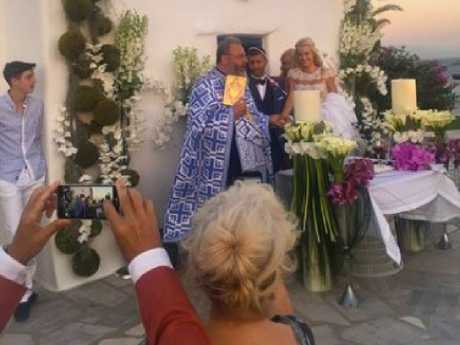 Karida called her wedding to Macris 'the most beautiful moment of my life'. Picture: Supplied