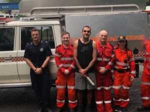 Toowoomba man rescued from state's highest mountain