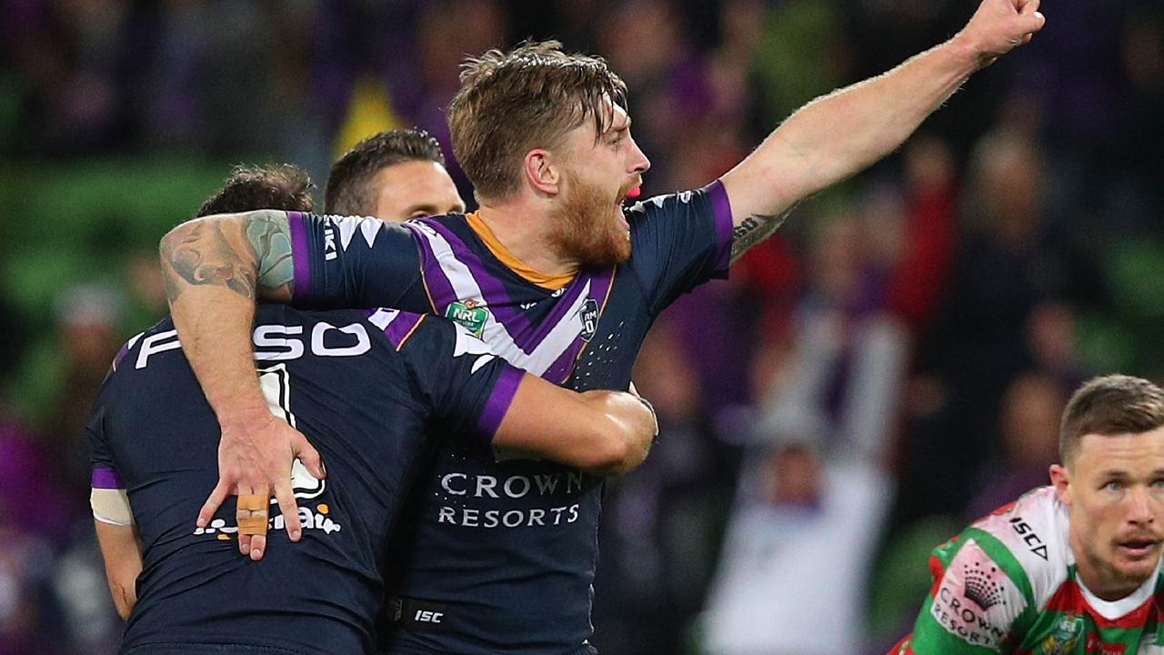 Cameron Munster will forgo about $400,000 over four years by signing with the Storm. Picture: Graham Denholm/Getty Images