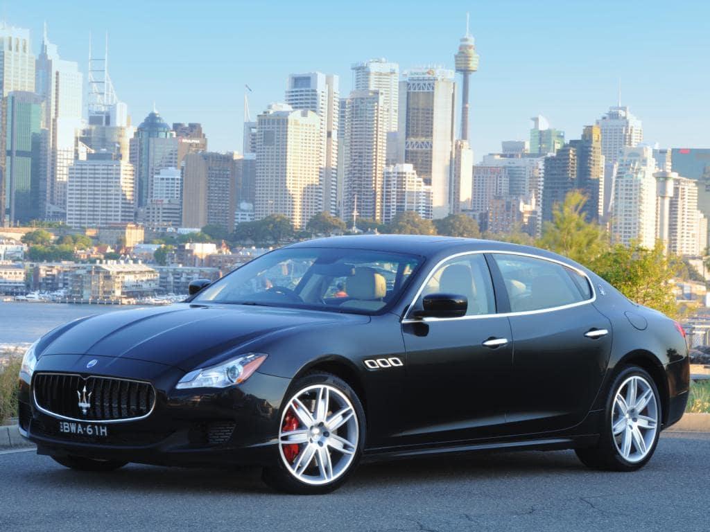 Touring car: Maserati Quattroporte GTS V8