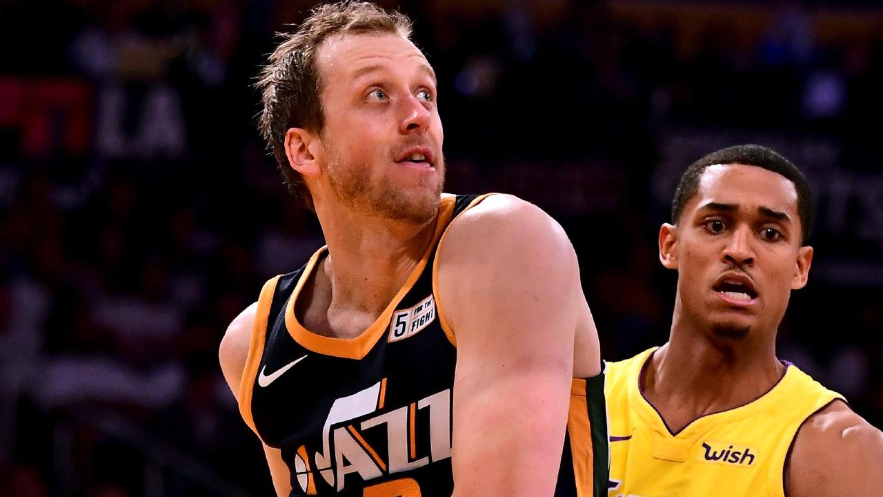 Joe Ingles keeps giving us more reasons to love him. Picture: Getty