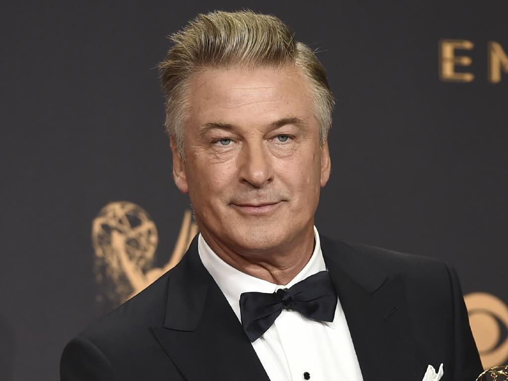 Alec Baldwin wasn't pleased when a man took his parking spot. Picture: AP