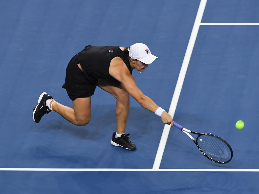 Barty was too good for German Julia Gorge. Picture: Getty Images