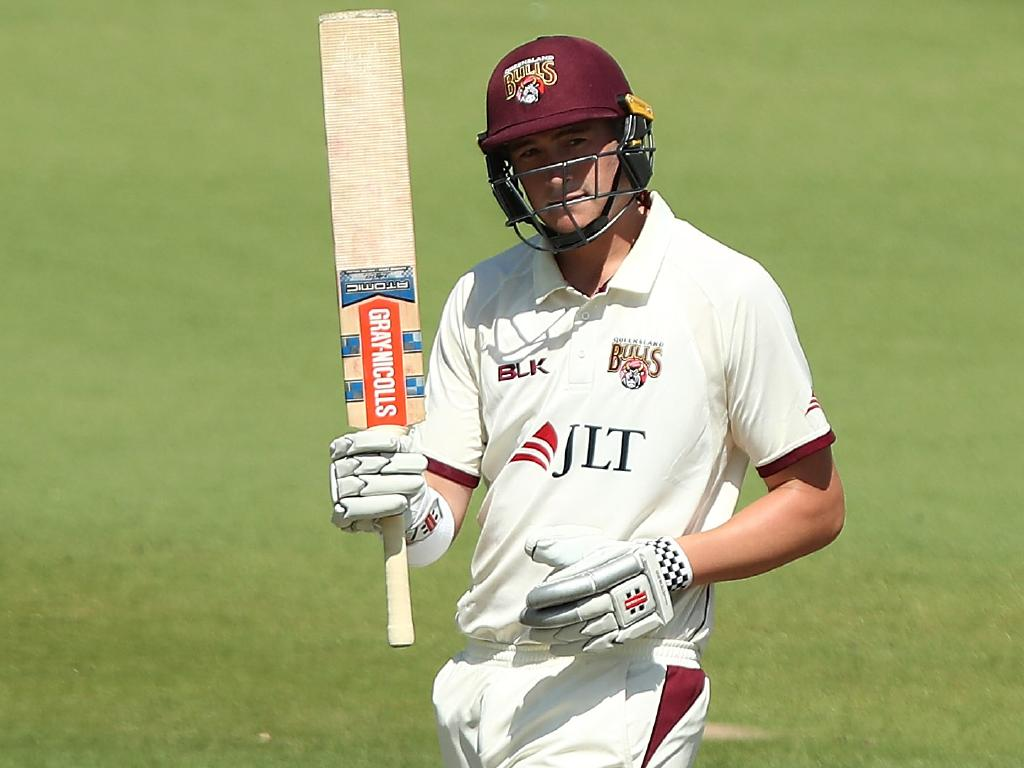 Renshaw's knock was timely with Usman Khawaja in doubt. Picture: Getty Images