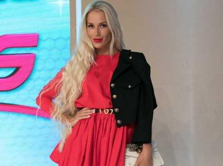Viktoria Karida is a crowd favourite on Greek reality show My Style Rocks. Picture: Instagram