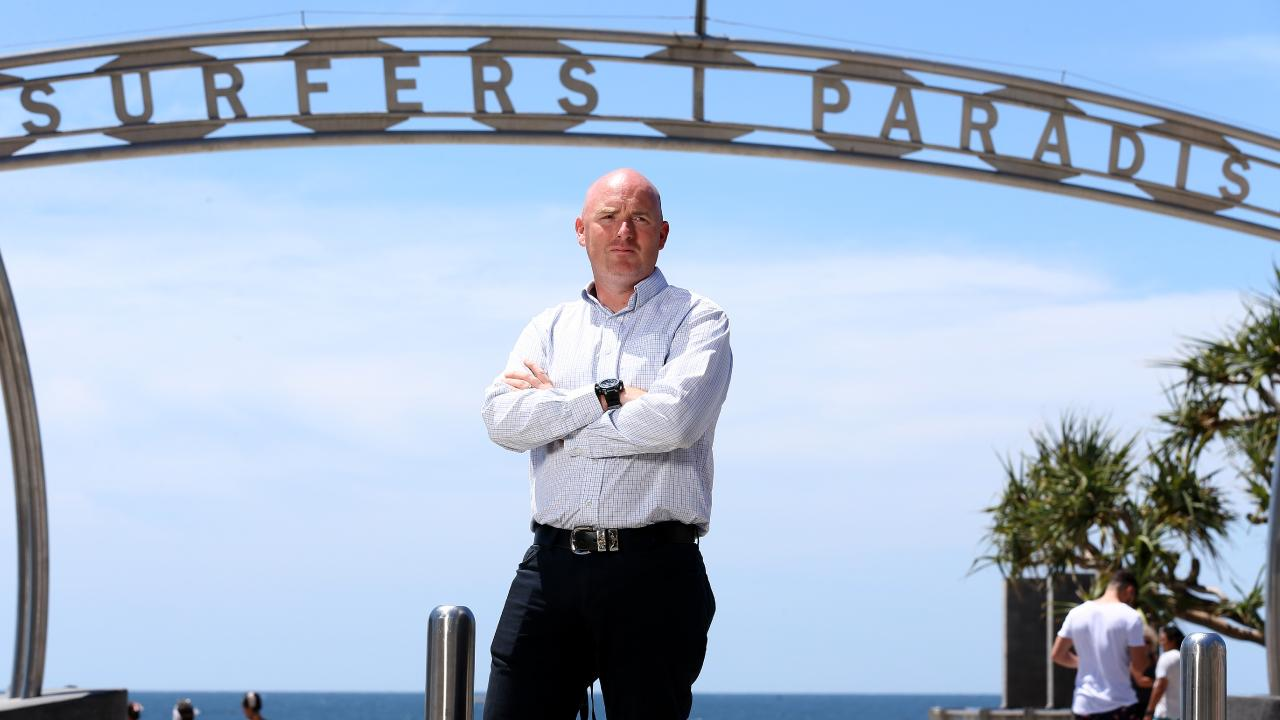 Oliver Laurence of OJT Investigations says Schoolies is one of the firm's busiest times of year. Picture: Adam Head