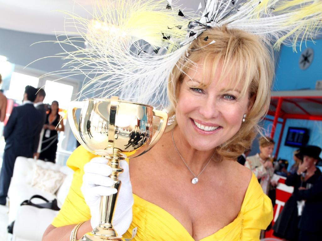 Races stalwart Kerri-Anne Kennerley.