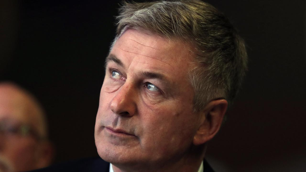Alec Baldwin arrested for punching driver over parking spot. Picture: AP
