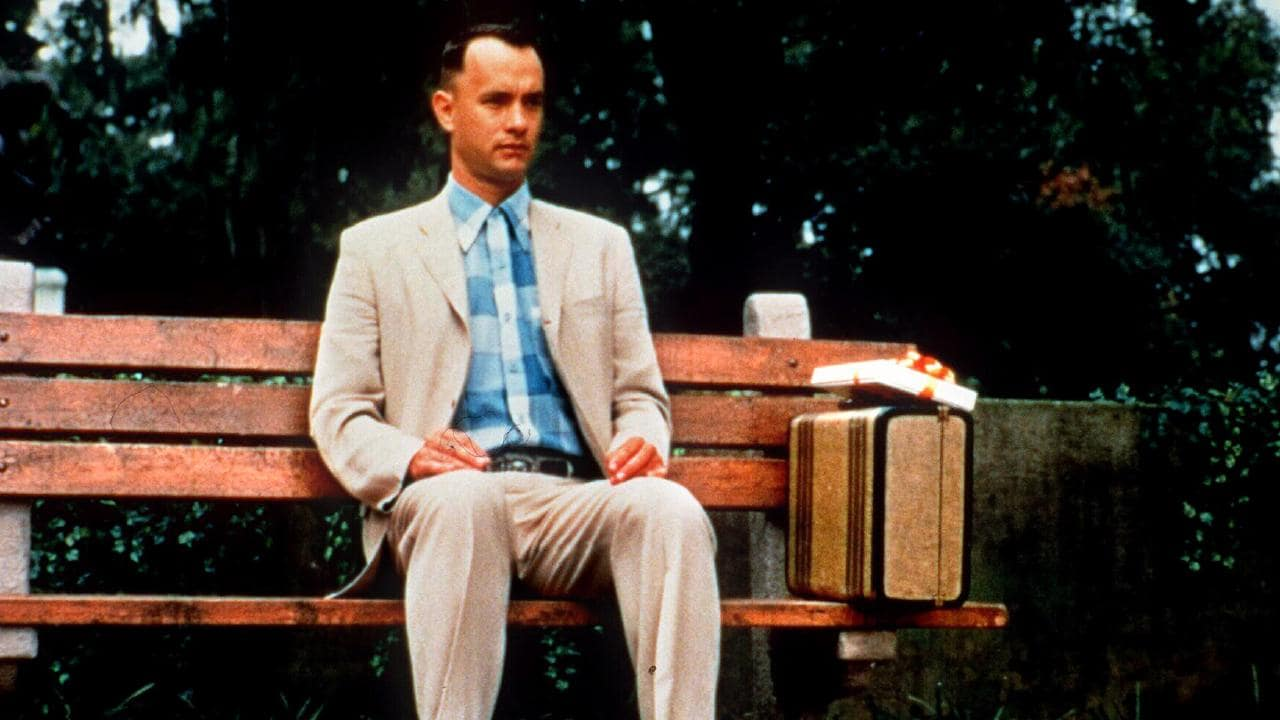 Tom Hanks' film Forrest Gump was a celebration of simple themes. Picture: supplied