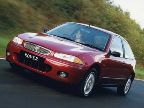 Parents' car: Rover 200