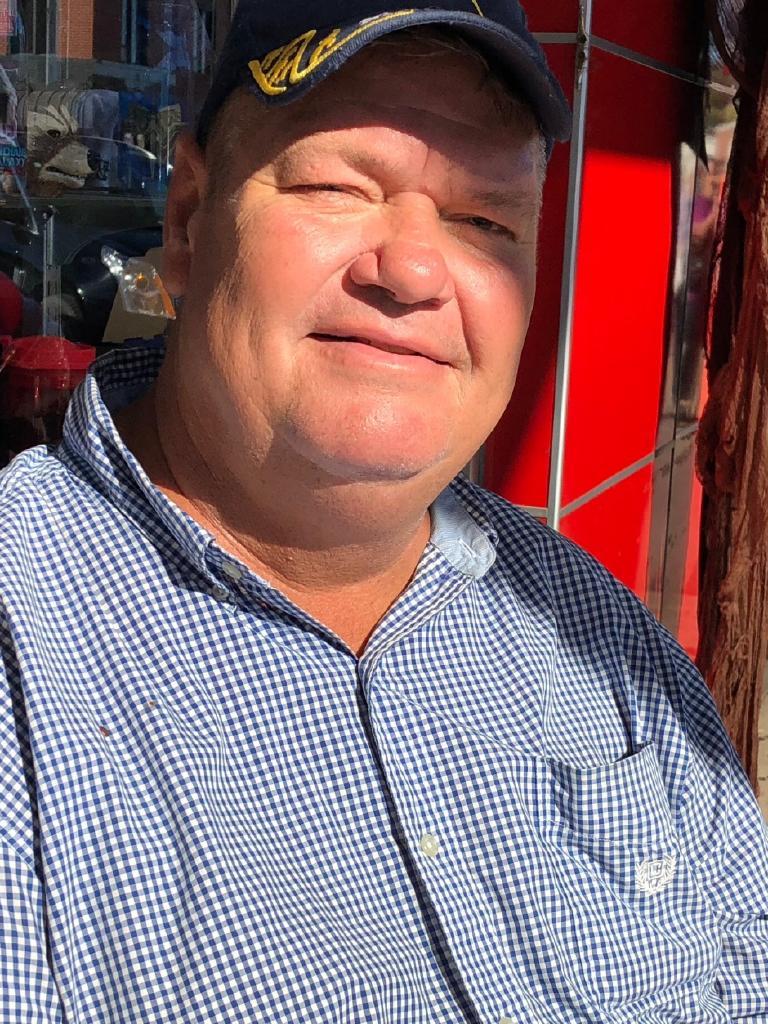David Mason says he loves Mr Trump, despite his 'boisterous' manner.