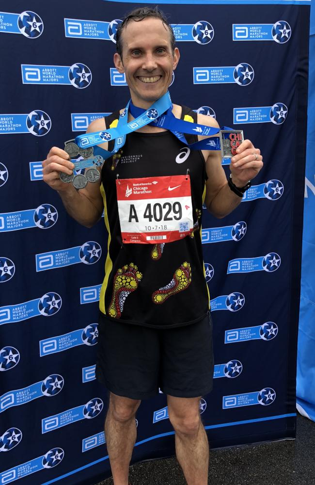 Andrew Leigh is a mad marathon runner and just completed the Big Six — knocking off marathons in New York, London, Boston, Berlin, Tokyo and Chicago.