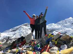 Mt Everest trek not for the faint hearted says CQ woman