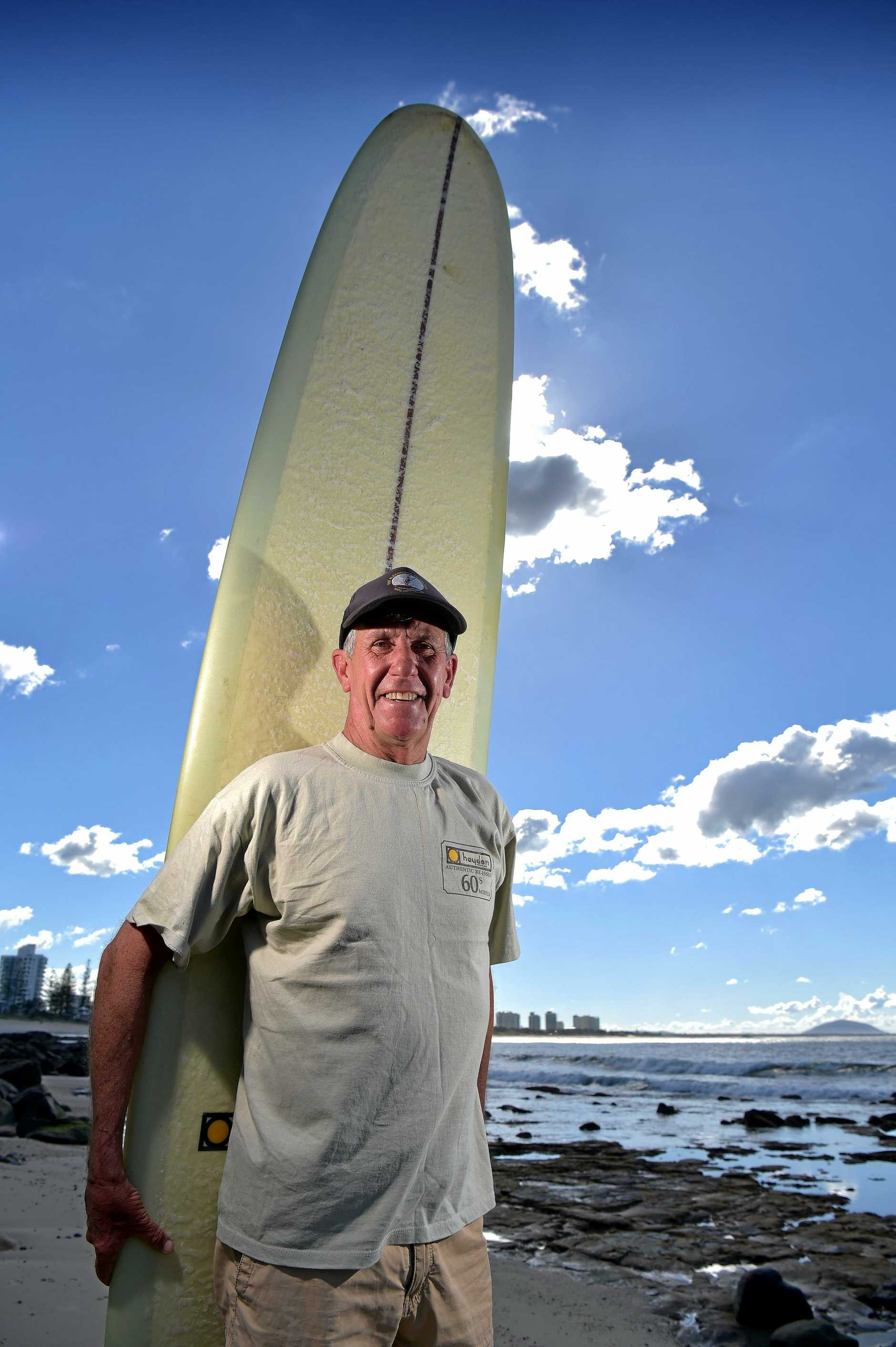 Kevin Annetts has loved living in Alexandra Headland for decades.