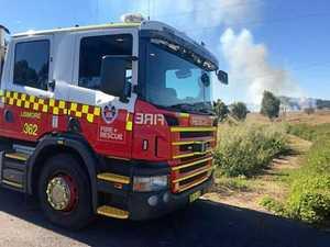 Grass fire in Coraki extinguished