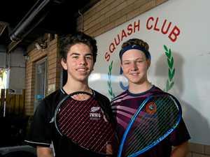 Teens contest men's final in bumper squash tournament