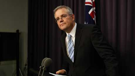 Prime Minister Scott Morrison when he was Immigration and Border Protection Minister in 2013.