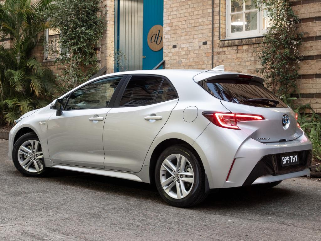 Toyota Corolla Ascent Sport Hybrid, MY19, 12th gen