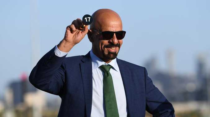 Marwan Koukash, a very cheeky character. Picture: Julian Smith/AAP