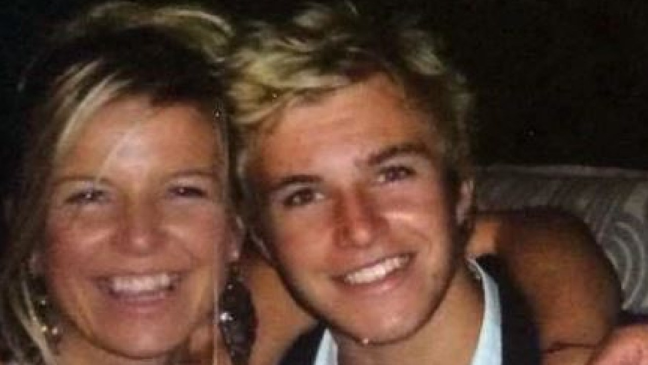 Claire Eardley, pictured with her son Kai, started the Kai Eardley Fund after her 20-year-old son suicided.