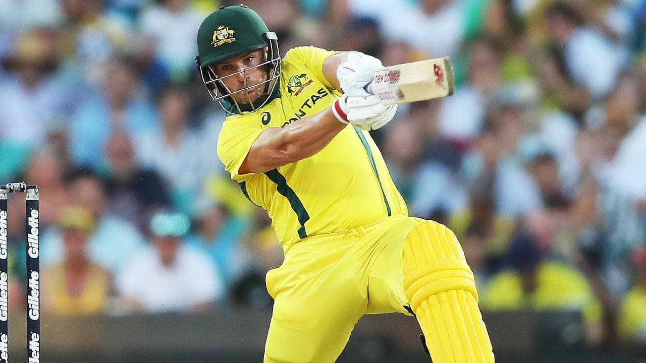 Aaron Finch is confident the Aussies can recover. Picture: Phil Hillyard
