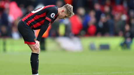 Bournemouth put up a strong showing but ultimately fell just short. Picture: Getty.