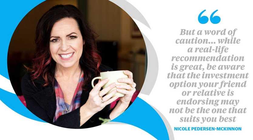 Independent financial educator, Nicole Pedersen-McKinnon.