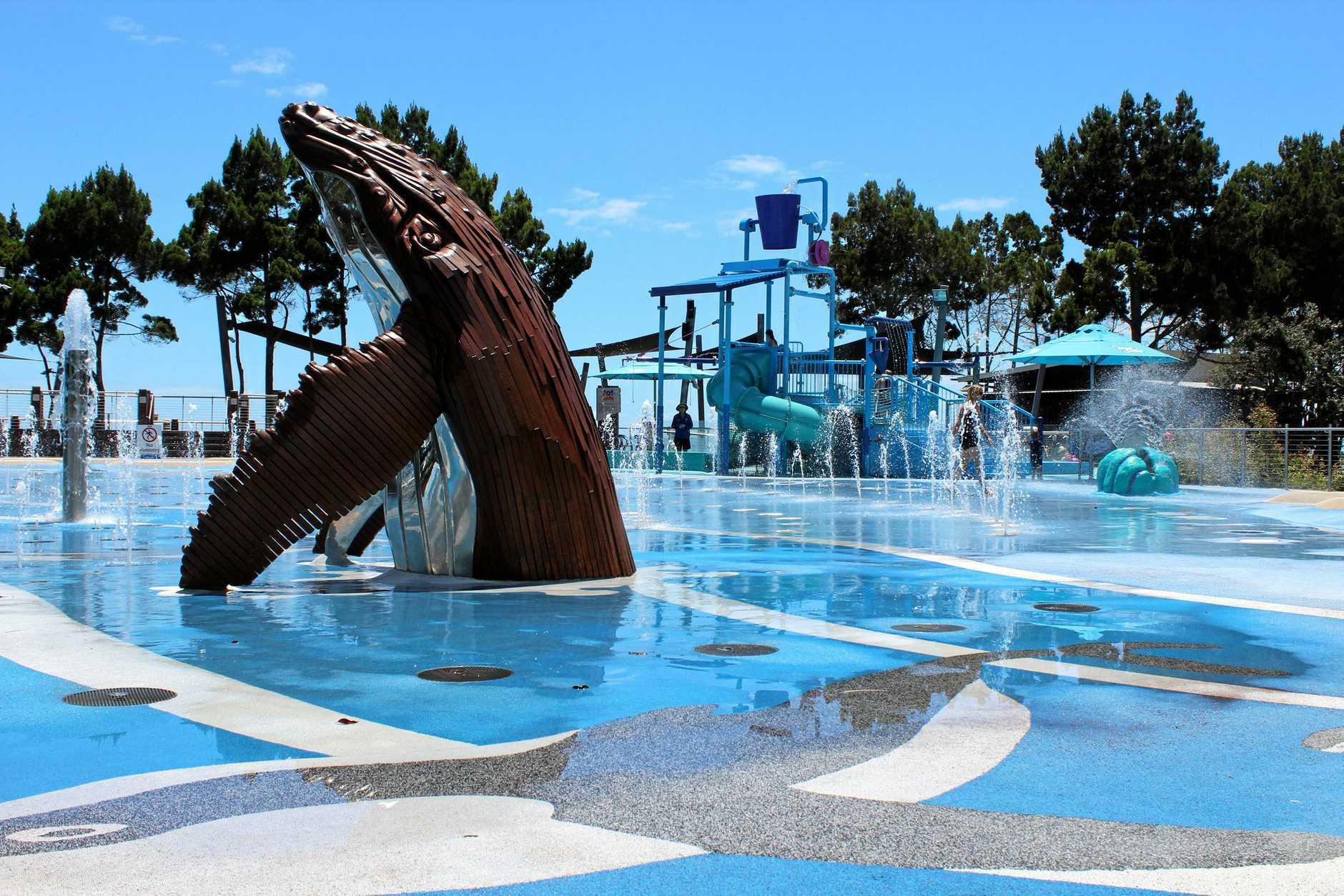 RIGHT: WetSide Water Park in Hervey Bay.