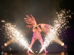Burlesque and fireworks to go off with a bang